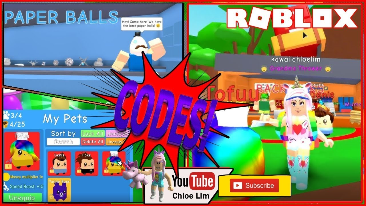 roblox paper ball simulator codes