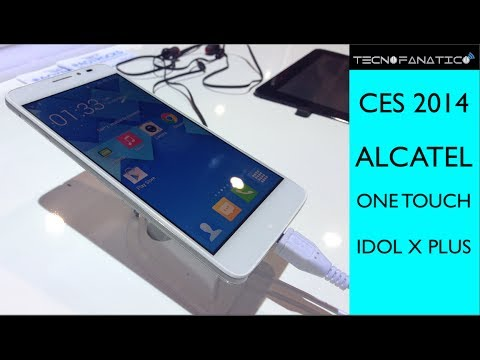 CES 2014 Alcatel One Touch Idol X Plus - Primeras Impresiones