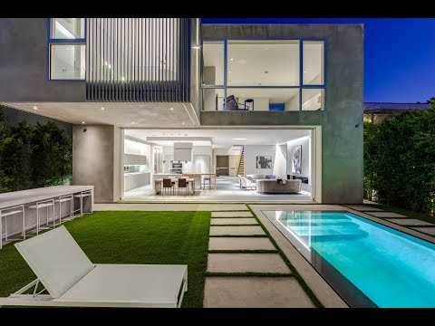 West Hollywood Architectural New Constr. Luxury Home for Sale I 931 N La Jolla Ave I Robert Michaels