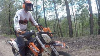 TRAIL FAST SAW MOUNT: dirt bike chainsaw bracket review