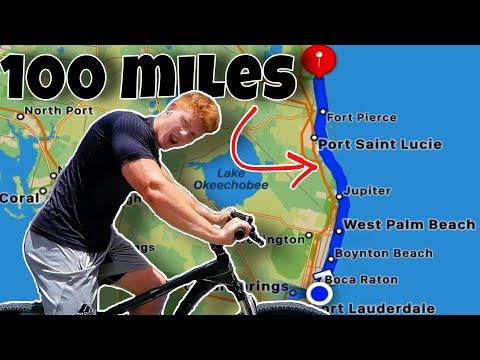 Biking 100 Miles in a Day on a Mountain Bike (century bike ride)