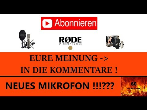 NEUES MIKROFON !!!??? | EURE MEINUNG IN DIE KOMMENTARE ! | #Info | German-Gamers.de [HD]