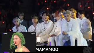ATEEZ reaction to MAMAMOO (HIP REMIX) at MAMA 2019