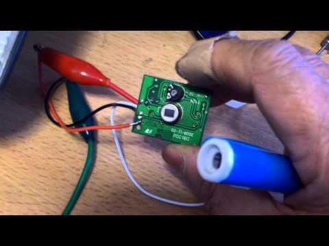 Make your own simple motion sensing LED light part 1