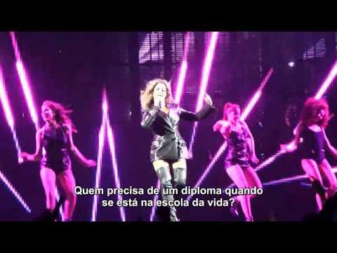 HD Beyoncé - Schoolin Life (Legendado) | Mrs Carter World Tour