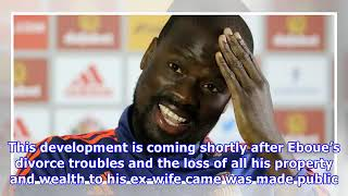 How Emmanuel Eboue died