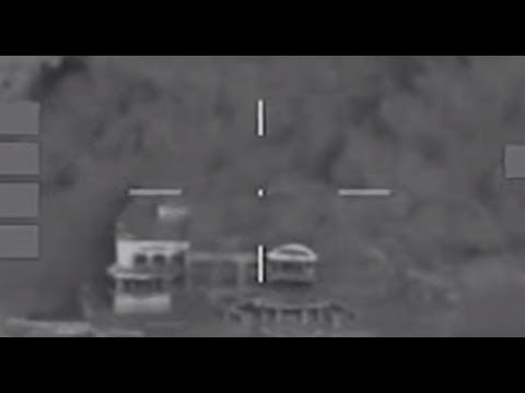 British Jets Destroy Saddam Hussein's Former Palace