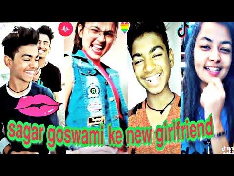 🌕sagar goswami ke new girlfriend | latest tik tok trending video,musically,team07,Mr Faisu,Hasnaink