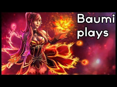 Dota 2 | ANOTHER FORGOTTEN HERO! | Baumi plays Lina