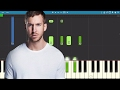 Calvin Harris - Slide ft. Frank Ocean & Migos - Slide Piano Tutorial