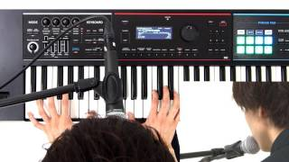 Playing Vocoder Sounds Roland JUNO-DS Quick Start #09