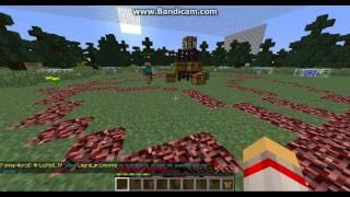 Играем на серверe в Minecraft 5 (часть 1-ая