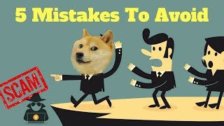 5 Unforgiving Crypto Mistakes To Avoid in 2018