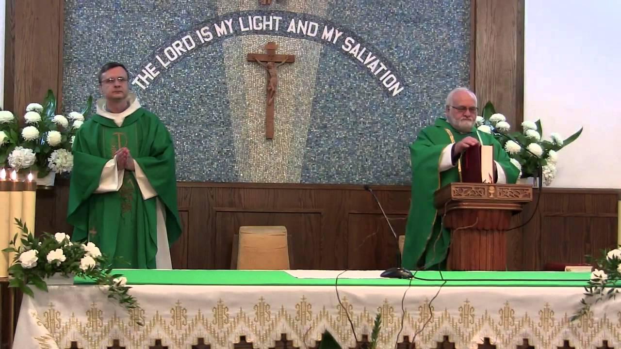 st camillus parish polka mass  2013  - entrance song