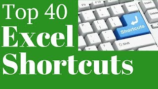 Top 40 Excel Shortcuts in Hindi