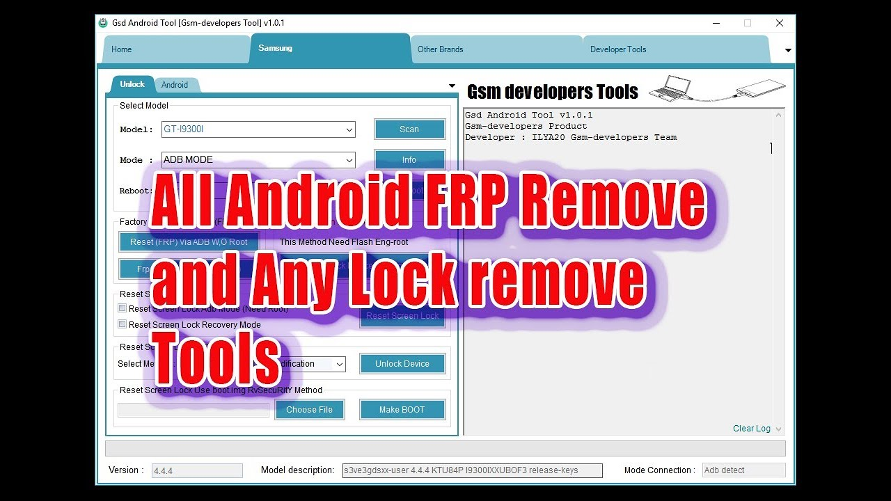 Latest Android Tool All in one Flash, FRP remove Unlock 2018