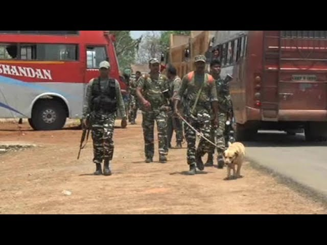 Heavy security deployed ahead of PM's visit to Naxal-hit Bijapur