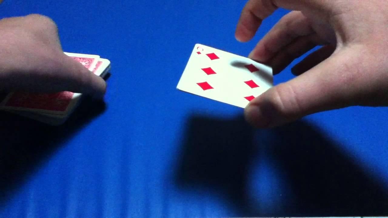 tour de magie carte transformee