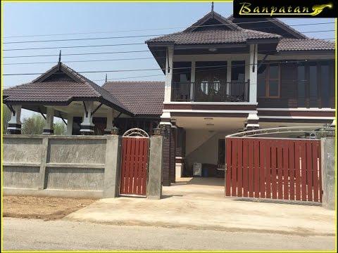 แบบบ้านชั้นครึ่งทรงไทยประยุกต์ BP24 จ.เชียงใหม่