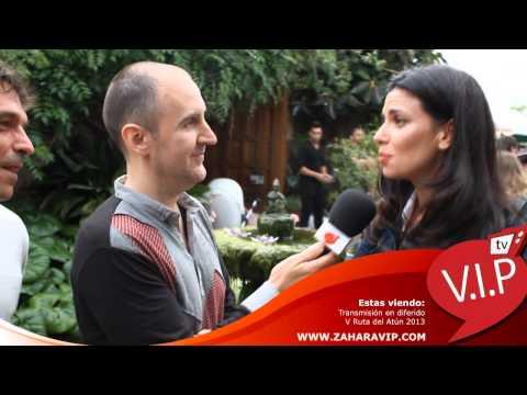 V Ruta del Atun 2013  Saludo de Rafa Reaño y Pilar Punzano a la Comunidad VIP www.zaharavip.com