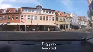 Driving in Ringsted, May 31th 2016