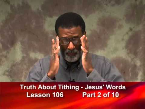 106- Truth About Tithing: Jesus' Words from Matt 23:23 - Part 2 of 10