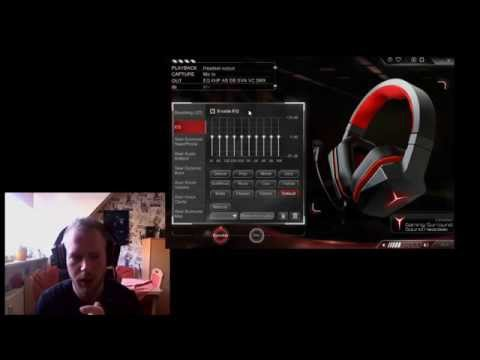 Lenovo Y Gaming Surround Sound Headset Unboxing+test By K1llsen