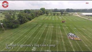 FBU Day 1- Football University TOP GUN Camp Recap - Dublin, Ohio