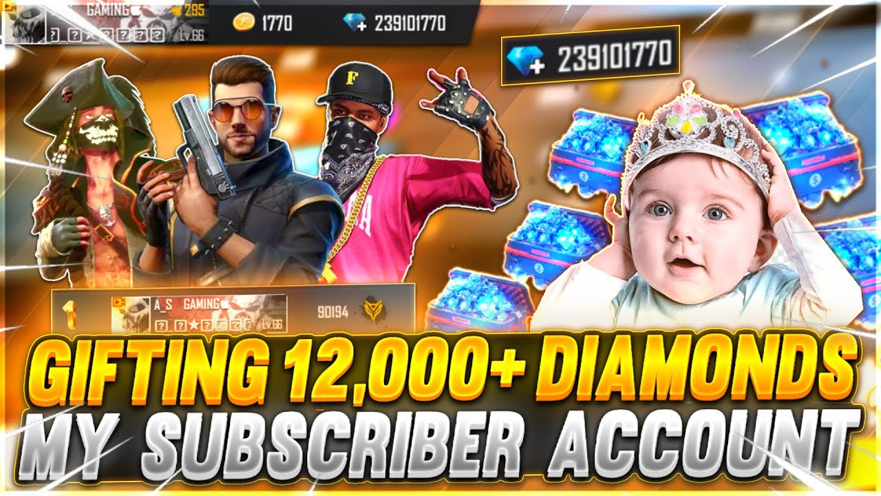 Buying Dj Alok & 5,000+ Diamonds In Subscriber Account | Crying Moment | - Garena Free Fire