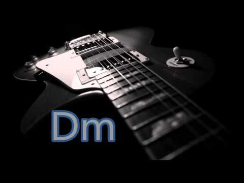 slow blues backing track in a minor