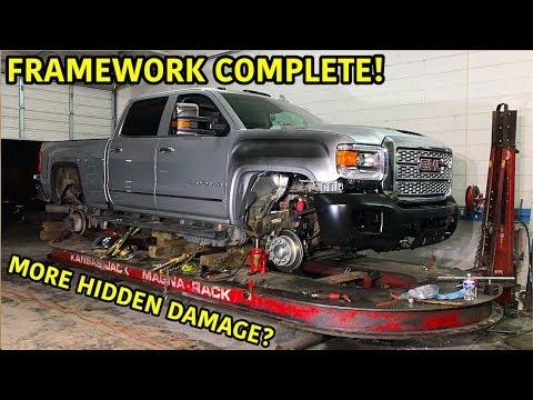 Rebuilding A Wrecked 2019 GMC Duramax Part 4