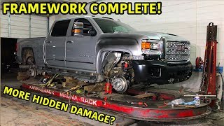 Rebuilding A Wrecked 2019 GMC Duramax Part 4