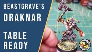 Painting Beastgrave's Draknar - Table Ready - Beastgrave Tutorial