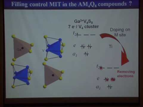 Insulator to metal transitions &  resistive switching in the narrow gap Mott Insulator - L. Cairo