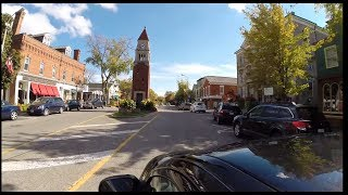 Ontario Scenic Drives - Driving Into Niagara On The Lake
