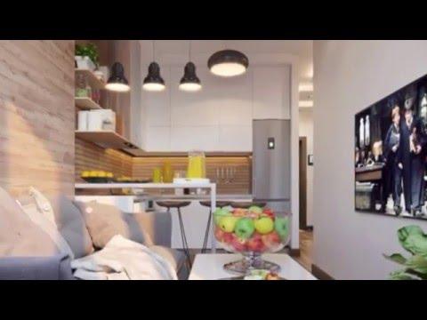 Идея для небольшой квартиры 40 кв.м