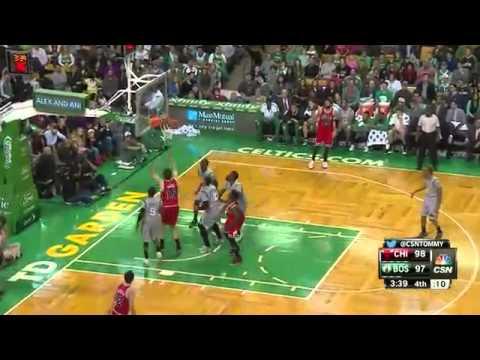 Chicago Bulls vs Boston Celtics - Full Highlights - November 28, 2014