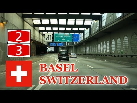 A2 & A3 -  Basel, Switzerland, Ft. Astey Highways