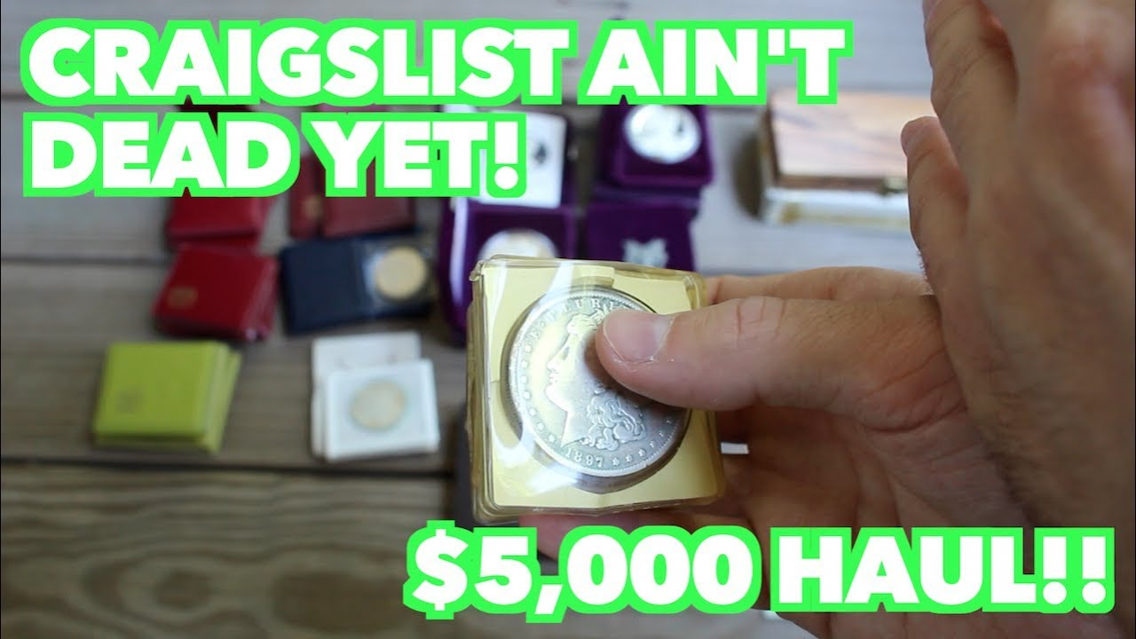 $5,000 Worth of Gold and Silver Coins Found on Craigslist