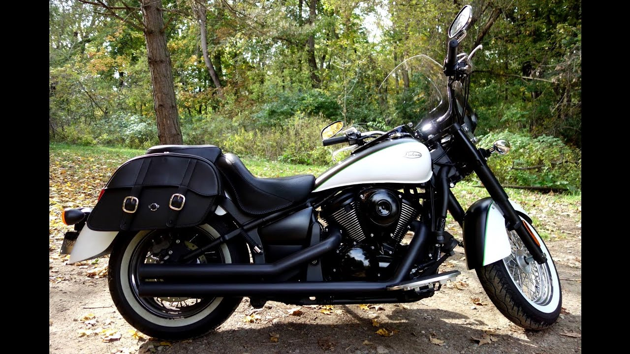 2015 kawasaki vulcan 900 classic motorcycle saddlebags review