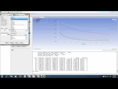 Drag and Lift calculations over a car using ANSYS Fluent 7