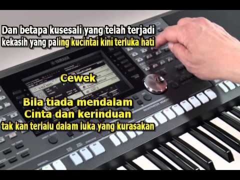 Kandas Karaoke Lirik Tanpa Vocal Keyboard