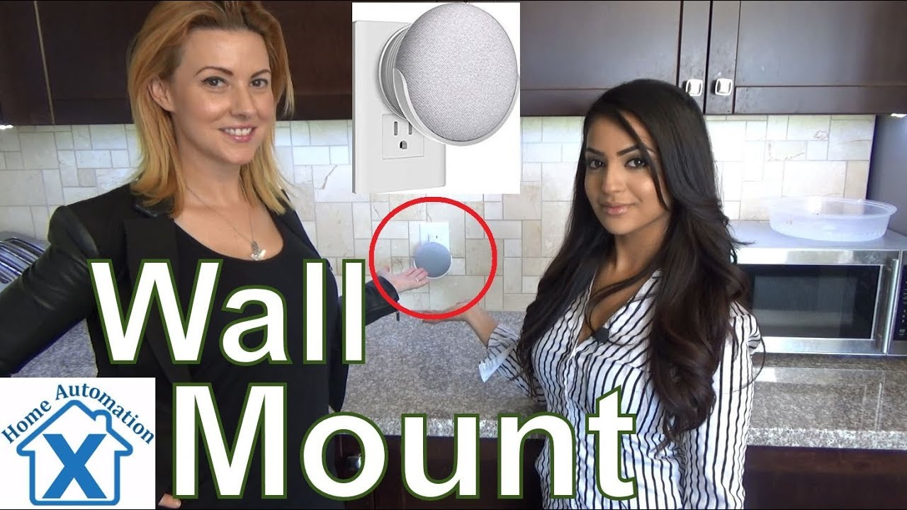 Google Home Mini Wall Mount By Homehod Youtube