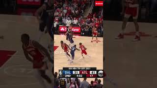 Trae Young to Clint Capela 🔥🍿   #Shorts