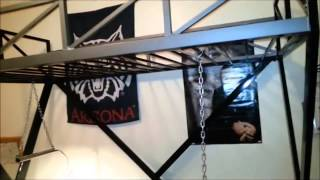 How To: Mig Welding Making A Teenager's Loft Bed And Desk Diy Style, Part 5 Final Episode