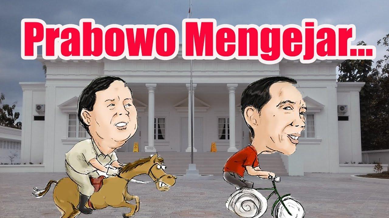 Image result for prabowo mengejar jokowi youtube