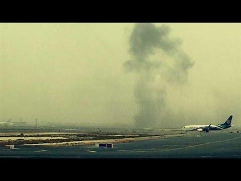 Emirates Airline Accident at Dubai Airport