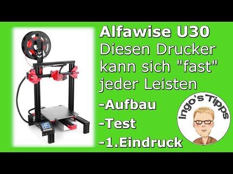 3d-drucker-top-für-160,--euro-alfawise-u30-aufbau-inbetriebnahme-testdruck-|-ingostipps