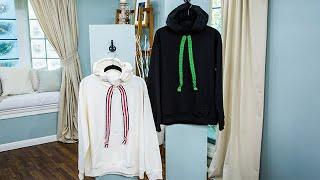 DIY Statement Sweater Drawstrings - Home & Family