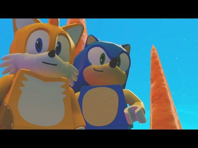 LEGO Dimensions - Sonic the Hedgehog World - Open World Free Roam Gameplay